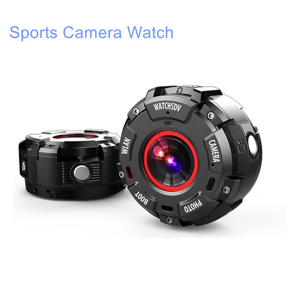 Tri-proof Sports Camera Watch HD 2K Support WIFI Video Camcorder Built-in Magnectic to Absorb Metal Taking Video DVR Drop Ship