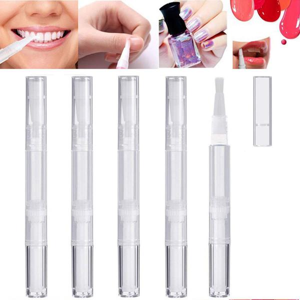 200pcs 3ML 5ML vide Twist Pen Nail Tube Portable Brosse Voyage / Pologne Blanchiment des dents Gel / Cils croissance / Lip Gloss Tube