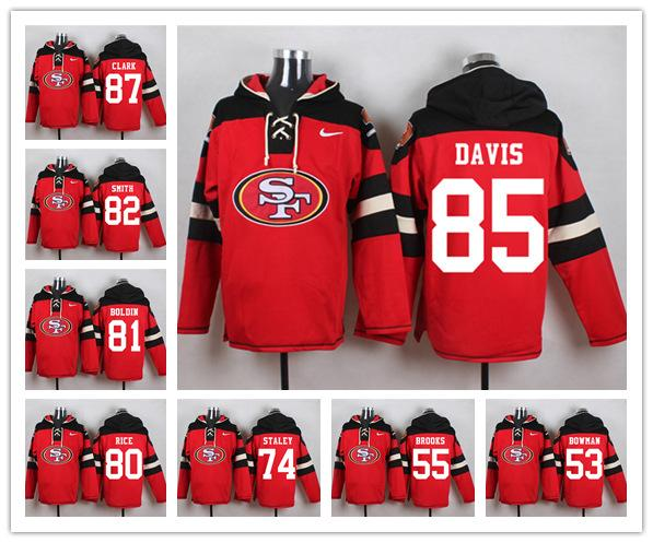 d31aa934 2018 San Francisco 49er Sweatshirt Crucial Catch Performance Pullover  Football Hoodie 10 Jimmy Garoppolo 80 Jerry Rice 16 Joe Montana From  Mimi02, ...