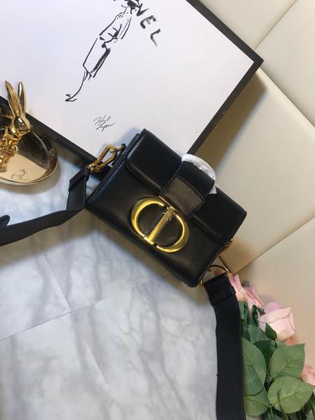 Hombro bolso de cuero genuino del diseñador de moda 2020 mujeres bolso de diseño original de las mujeres perfecto pequeño bolso PDS0077