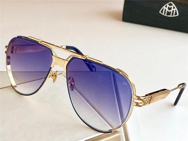 Мужские Солнцезащитные очки мужские солнцезащитные очки, дизайнер солнцезащитных очков THE DAWM II изысканные детали логотипа высокого класса высшего качества на открытом воздухе UV400 очки с коробкой