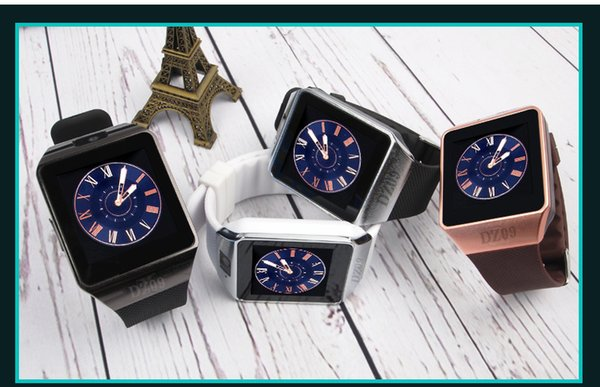 The new DZ09 Smart Watch Dz09 Watches Wristband Android Watch Smart SIM Intelligent Mobile Phone Sleep State Smart watch Retail Package