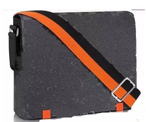2019 brand designer Men District Handbag Black Briefcase Laptop Shoulder Bag cross body bag school bookbag Messenger Bag purse N42420