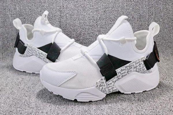 High Quality Huarache City Low Prm Ultra Run White Black Baby Kids Mens Womens Trainers Just Sneakers Air Cushion Huaraches Shoes