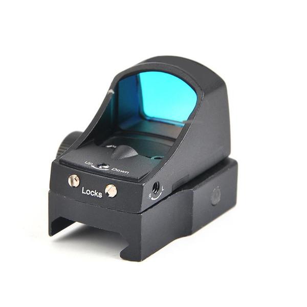 Tactical Doctor 3 Visão Red Dot Sight Frente E Traseira Vistas Óptica Riflescope Auto Brilho Laser Scope para a caça