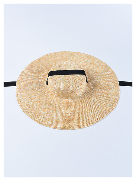 2019 new big straw hat women female summer wide brim lace photography photo style beach sun hats caps seaside travel holiday sunscreen hats