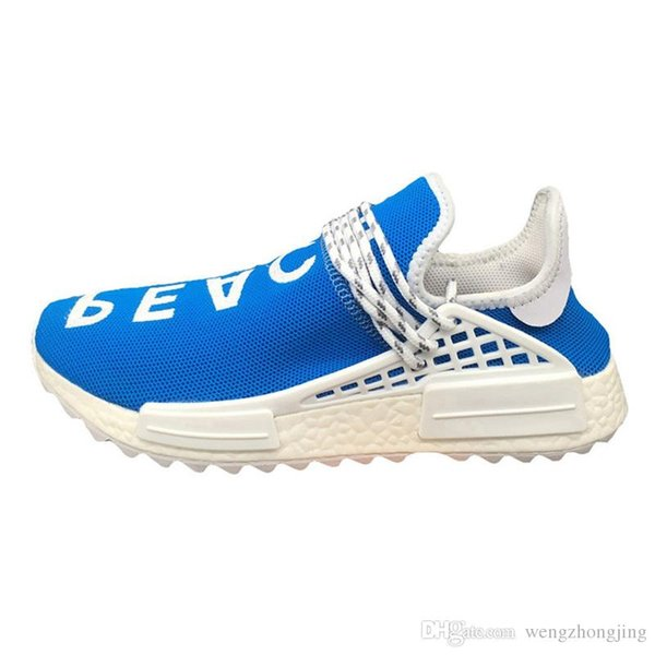 best loved 8f1c6 985d1 2018 Grade A Quality New Human Race Pharrell William Shoes Sports Discount  Athletic Mens Outdoor ShoesTraining Sneaker Size 36 46 Comfortable Shoes ...