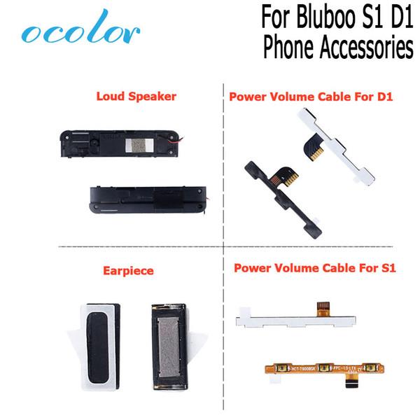 ocolor Für Bluboo S1 D1 Hörmuschel Lautsprecher Power-Knopf-Volumen-Schlüssel-Flexkabel für Bluboo S1 D1 Handyzubehör