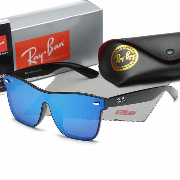 aviador de lujoGafas de sol de la marca Ray Ban Piloto Marca Banda protección UV400 de la vendimia para hombre Hombres Mujeres Ben gafas caminante con la caja