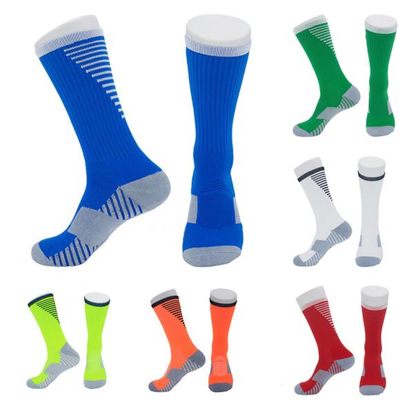 Football Socks High Sock Anti-skid Golf Elite Basketball Medium Stocking Sweat-Absorption Socks Outdoor Hiking Running Cycling Socks M113Y
