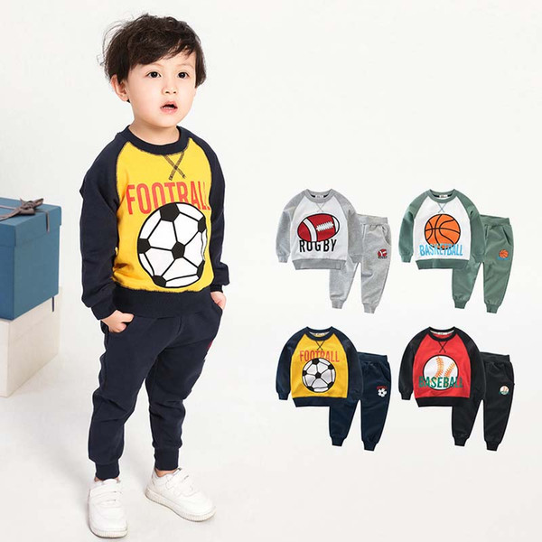 Spring Autumn kids designer clothes 18 24 months boys Clothing Sets boys tracksuits childrens boutique clothing boys designer clothes A2427