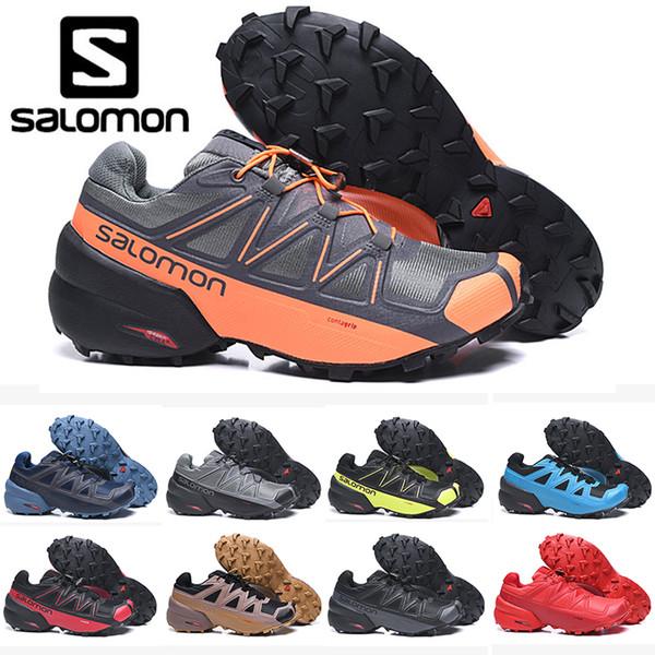 Designer Brand Salomon Speedcross 5 CS mens donne Scarpe da corsa superiore mens qualità formatori impermeabili scarpe da tennis di sport atletici fare jogging trekking