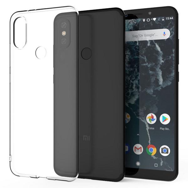 moda firmata a0dce cd7d7 Custodia Telefono Huawei Xiaomi Mi A2 Custodia IPhone X XR Xs Max, Cover  Trasparente Telefono In Gel Trasparente In Silicone Trasparente Custodia ...