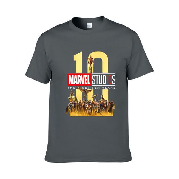 2019 New Fashion MARVEL T-Shirt Men Cotton Short Sleeves Casual Male Tshirt Marvel T Shirts Men Women Tops Tees Free Shipping H6