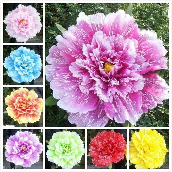 Tanzperformance Pfingstrose Blume Regenschirm Chinesischen Multi Layer Tuch Regenschirme Requisiten Für Frauen Künstlerische Show Requisiten Viele Größen 78sy5 ZZkk