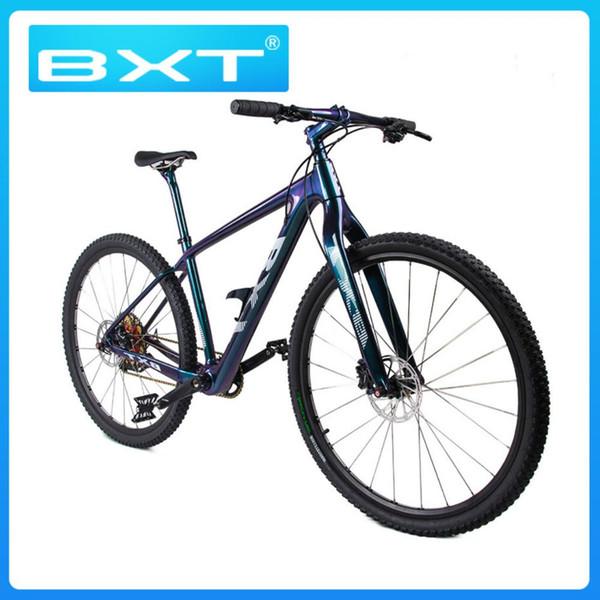 Ciclismo bicicleta masculina colorida bicicleta bicicleta de montaña 29 '' con cuadro de bicicleta horquilla famoso freno de disco Mtb ligero bajo precio