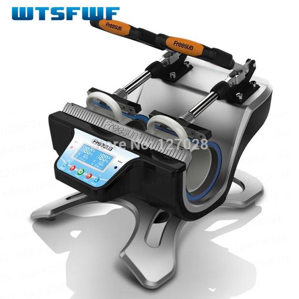 Wtsfwf ST-210 Double-station Thermal Mug Transfer Printer Machine Mug Heat Press Printer Digital