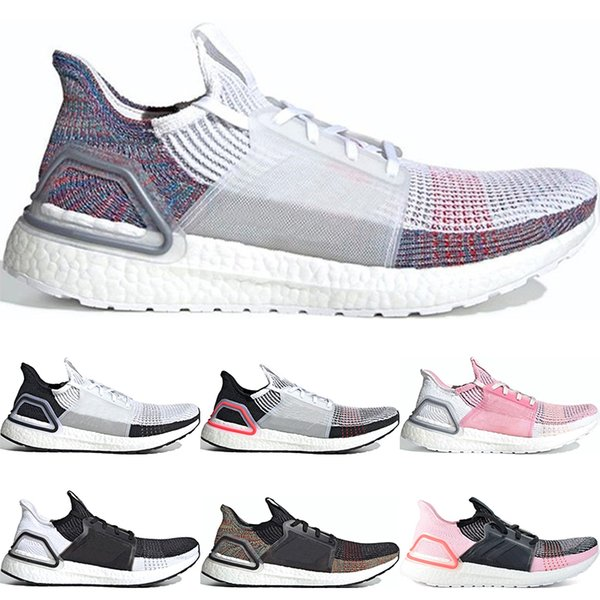 Multicolor Boost Hombres REFRACT Pink True 2019 Blanco Mujeres Para Oreo Correr Negro Hombres Entrenadores 19 Zapatillas Zapatos Ultra Ultraboost 4jLAq5R3