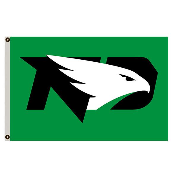 Dakota du Nord Fighting Sioux grand drapeau bannière homme des cavernes