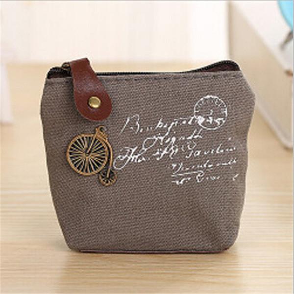 Retro  Change  Vintage  Mini Purse  Purse Bags  Money Wallet  Canvas Coin Bag