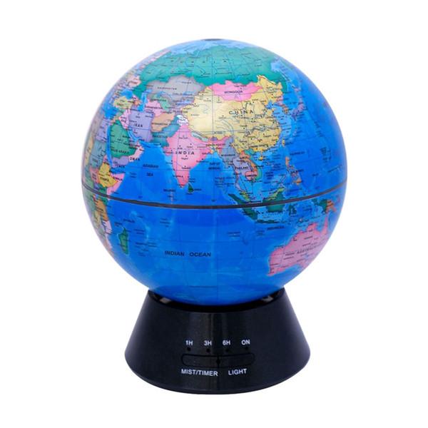 Difusor de aroma Humidificadores de aire Globe Aroma Lamp Diffuser Mist Maker 7 Cambio de luz led para el hogar Eu Plug