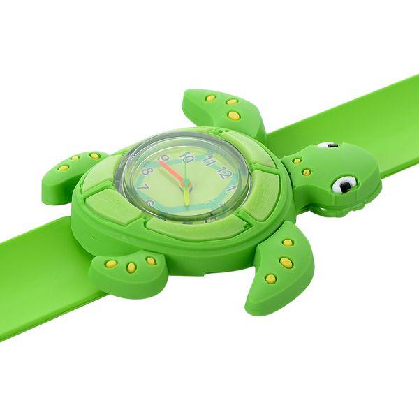 Çocuk Tokat İzle Sevimli Hayvan Karikatür Quartz Analog Saatı Şeker Renk Silikon Spor İzle Çocuklar Öğrenci Hediye Saatler