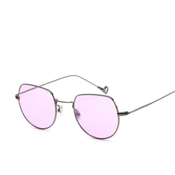 2018 New Blue Light Blocking Glasses Retro Metal Frame Anti Blue Ray Glasses Computer Goggles Reading Eyewear Flat Mirror LJJS210