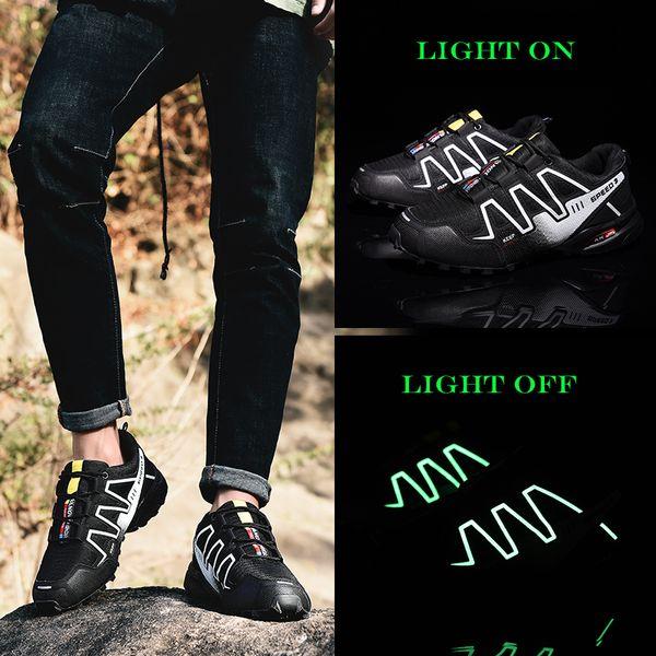 FAN PAO Men Outdoor Professional Hiking Practice Climbing Mountain Shoes Comfortable Casual Jogging Sneakers Trekking Footwear