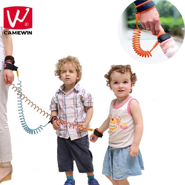 CAMEWIN Bebê Crianças Segurança Arnês Criança Trela Anti Perdido Pulso Link Corda De Tração Anti Perdido Pulseira Bebê Segurança Punho Suppo # 370110