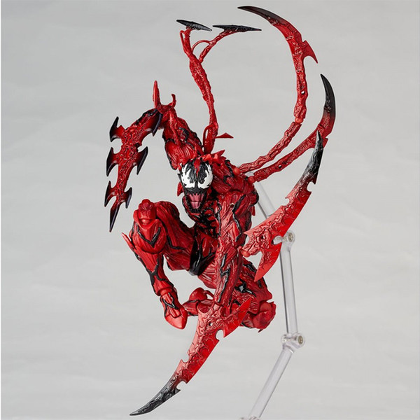 16cm Marvel The Amazing SpiderMan Red Venom Carnage in Movie BJD Joints Movable Action Figure Model Toys Dolls Chritmas gifts