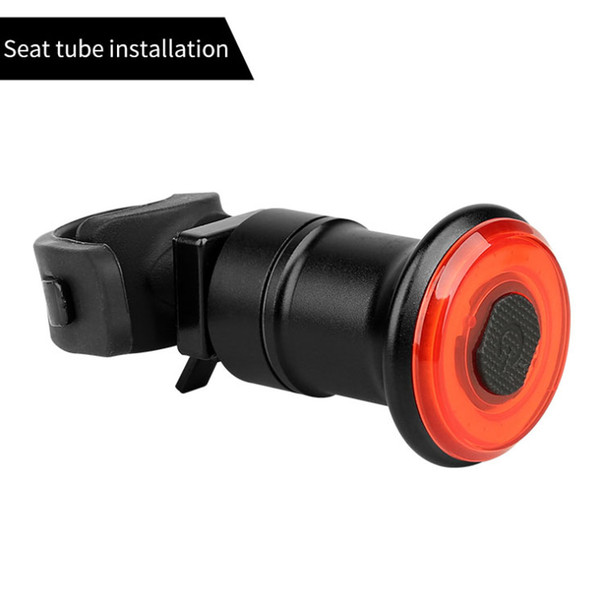 Seat tube mount light