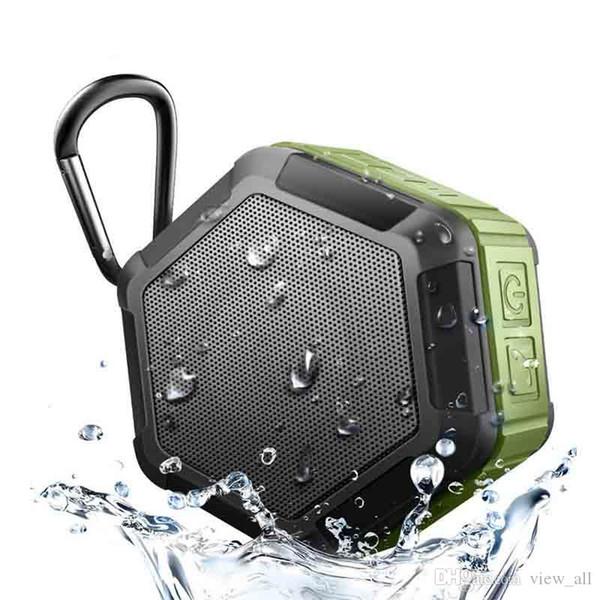 Die Arbeit in Wasser beweglicher drahtloser Bluetooth Lautsprecher Subwoofer Leistungsstarke IP65 im Freiensport-MP3-Player-Musik-Lautsprecher Bass
