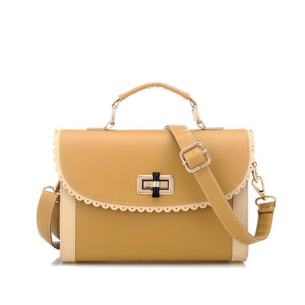 Hot 2019 Vintage Fashion Classical Tote Bag Women Messenger Bags Lace Sequined Elegant Ladies Pu Leather Handbags Bolsas Ab0123