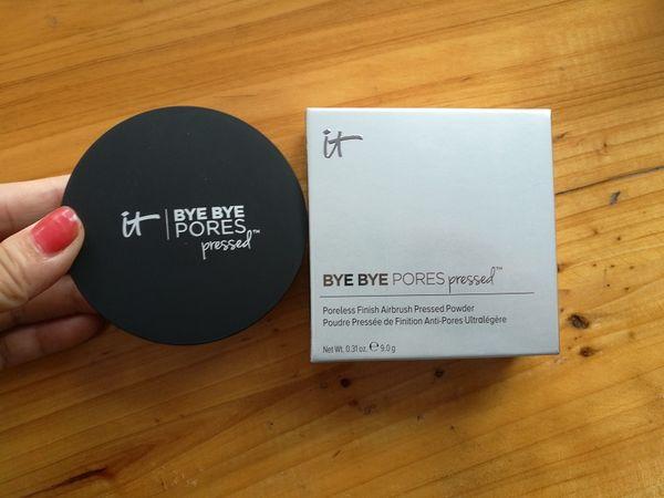 2018 new makeup Pressed Powder Pores pressed Poreless Finish Airbrush Powder best quality Face powder 1pcs free shipping