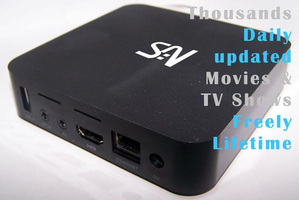 10шт MXQ MXQPRO MXQplus S905X / S905W / RK3229 / H3 Четырехъядерный процессор 4K Android 6.0 / 7.1 ТВ-бокс 1 ГБ / 8 ГБ Тысячи ежедневно обновляемых фильмов Телепередачи