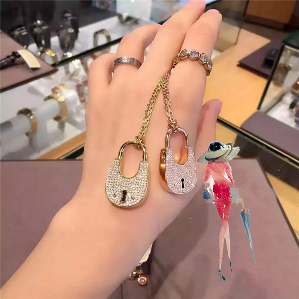 Wholesales 3 Color Heart Shape Letter Rhinestone Necklace Gold, Silver, Rose Gold Color Chain high quality for Women Lady Girl Lady Jewelry