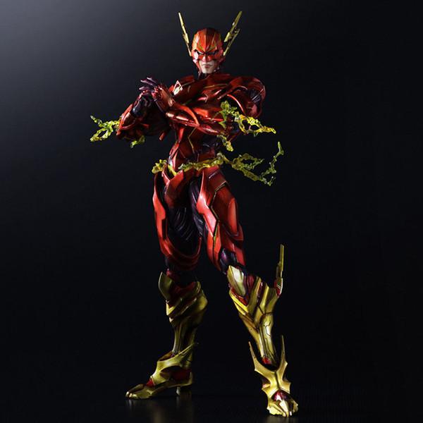 Jouer Arts Kai DC Justice League VARIVANT Le Flash Action PVC Figure Mobile Modèle de Collection Jouet 28 cm Livraison Gratuite Bonne Qualité