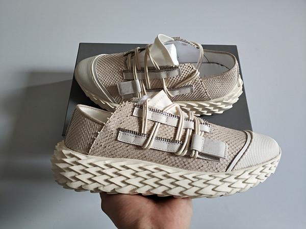 Tasarımcı ayakkabı Yeni Sezon Kestanesi Kayalar Sneakers marka ayakkabı Moda Düşük Top Rahat Ayakkabılar Frankie Krissr Pyton Spike ile Sneakers