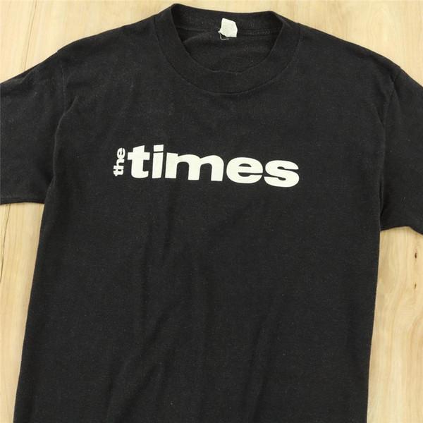 Vtg 80's eua fez velva sheen t-shirt NY TIMES macio e fino desbotada nyc new york 70 s top frete grátis t-shirt