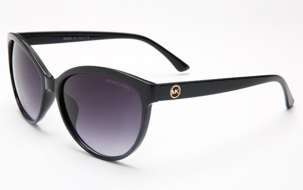 Мода люкс доказательство солнцезащитные очки ретро винтаж мужчины дизайнер блестящий золотой раме лазерный логотип женщины высшего качества с пакетом A3533