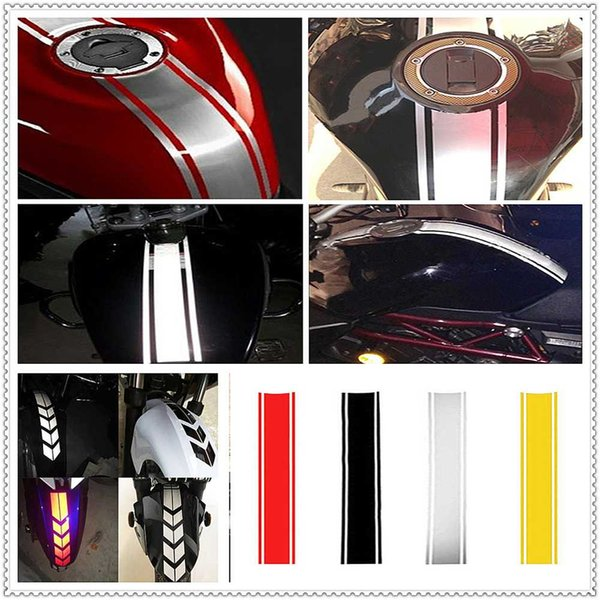 Motorcycle Reflective Sticker Fuel Oil Tank Pad Decal Decor Protector FOR YAMAHA R6S USA BT1100 Bulldog XJR400 1300 RACER 400R
