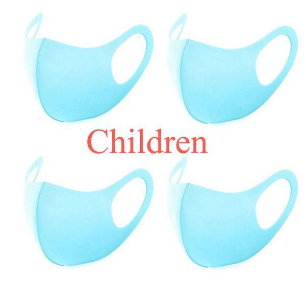Niños azules