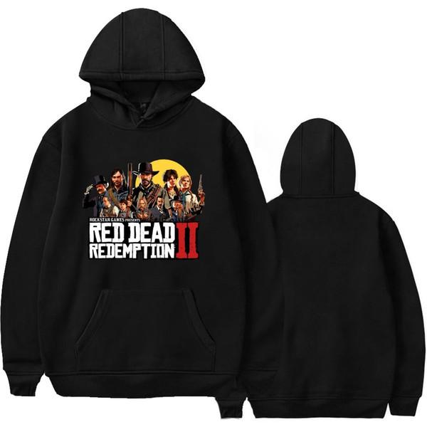 Felpe con cappuccio Red Dead Redemptio Uomo Primavera Autunno Felpe Harajuku Felpe con cappuccio Top