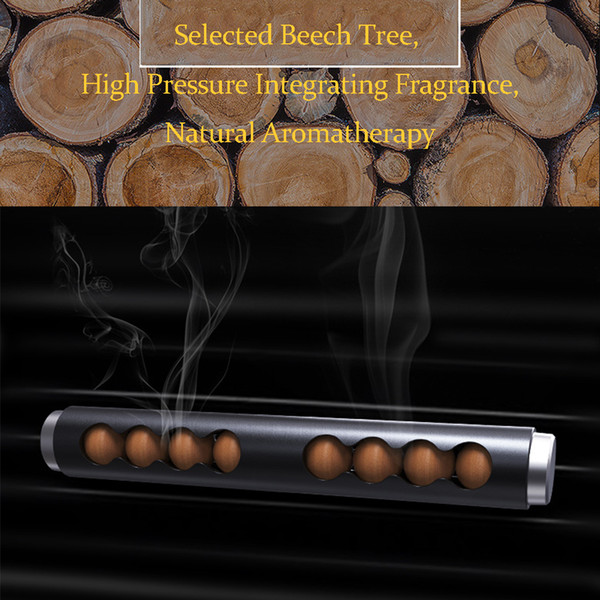Auto Air Freshener Aroma Essential Diffuser Air Conditioning Clip Sandalwood Diffuser Solid Perfume Conditioning Clip