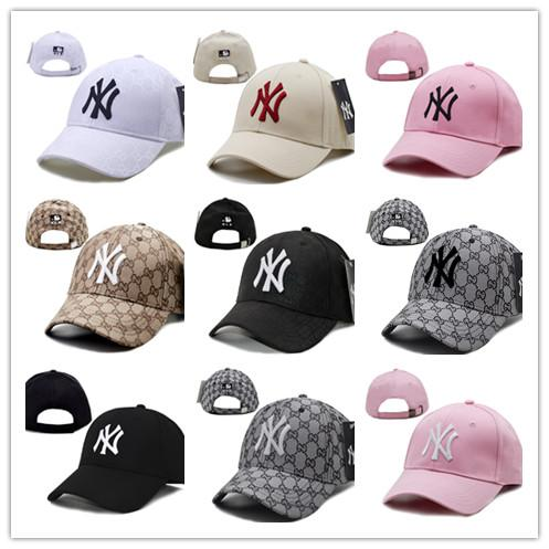 2019 Fashion NY Snapback Baseball Caps Many Colors Peaked Cap New bone Adjustable Snapbacks Sport Hats for men Free Drop Shipping Mix Order