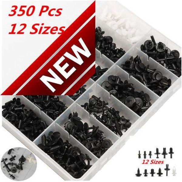 350pcs Auto Car Push Retainer Pin Rivet Trim Clip Panel Moulding Assortments Kit Fit Market 80% Models Car