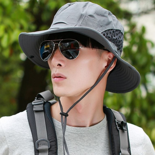 Bucket Hat Cap Hunting Safari Summer Men