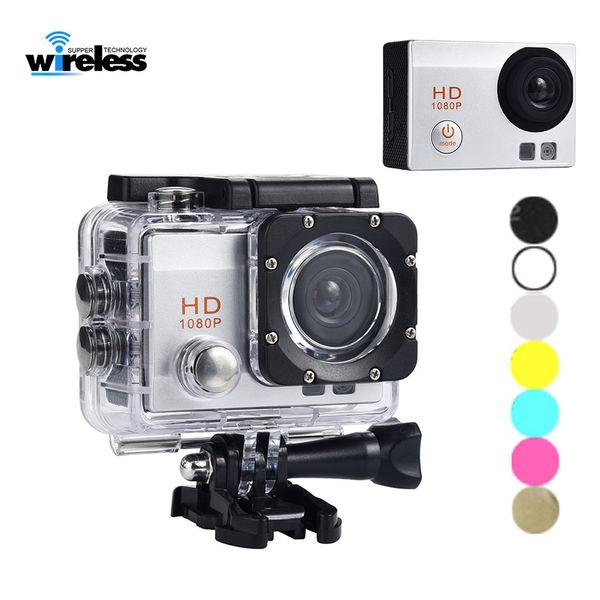 Moto dashcamera Videocamere sportive Videocamere Videocamera bicyle registratore DVR Full HD 1080p Impermeabile Dash Camera DV