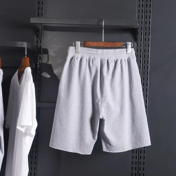 top popular Men's summer shorts pants short pants Basketball pant fashion print drawstring shorts loose men's luxury sweatpants summer sport 2020