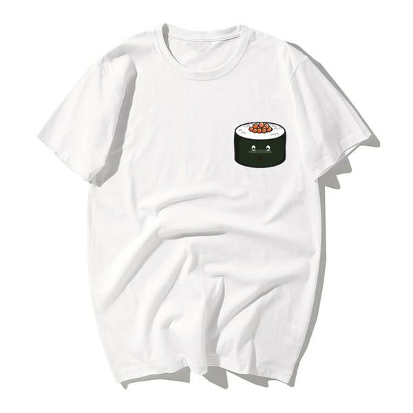 2019Sushi Shirt Tee I Love Sushi Japanese Tshirt T-Shirt T Shirt Ladies Mens Gift Idea Japan Cute Sushi Roll ie Travel